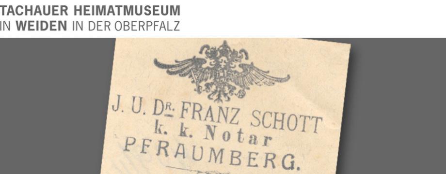 Tachauer Heimatmuseum Urkunden und Dokumente